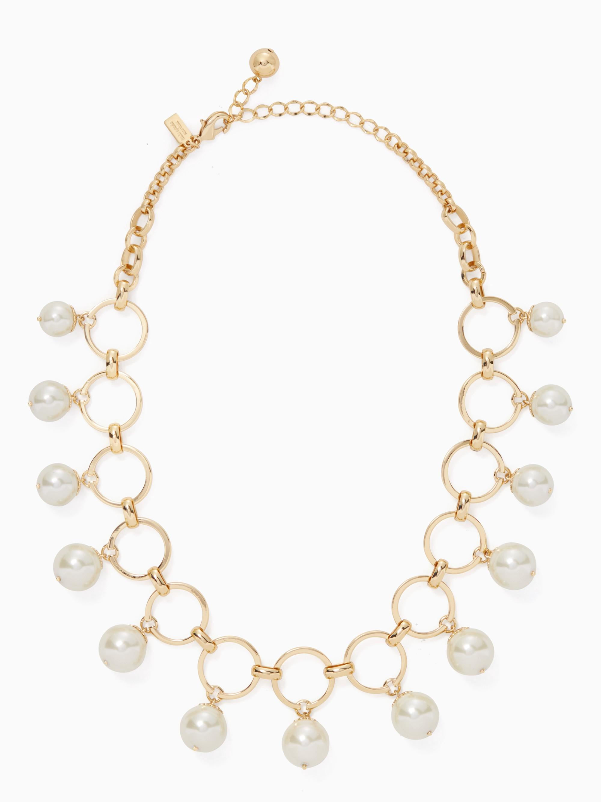 Kate Spade Start A Movement Statement Necklace