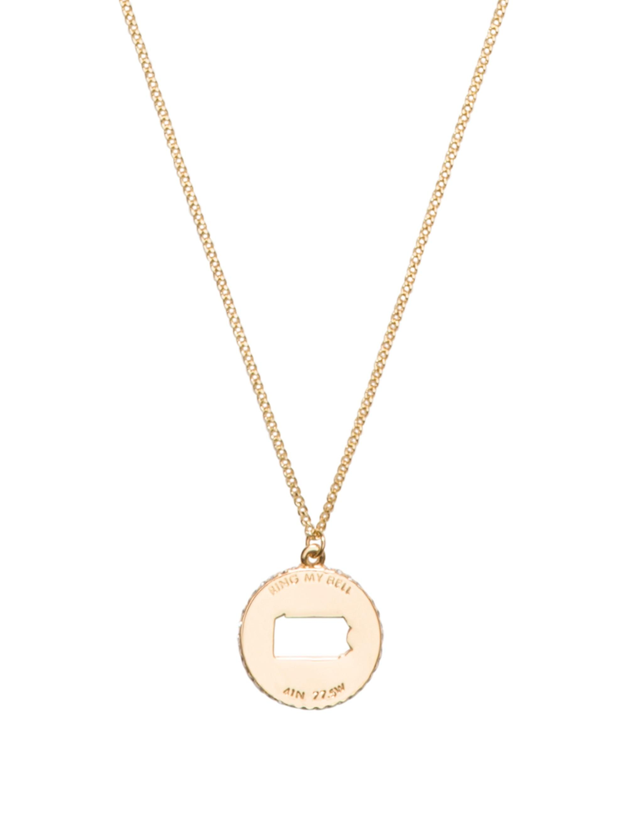 Kate Spade State Of Mind Pendant In Pa