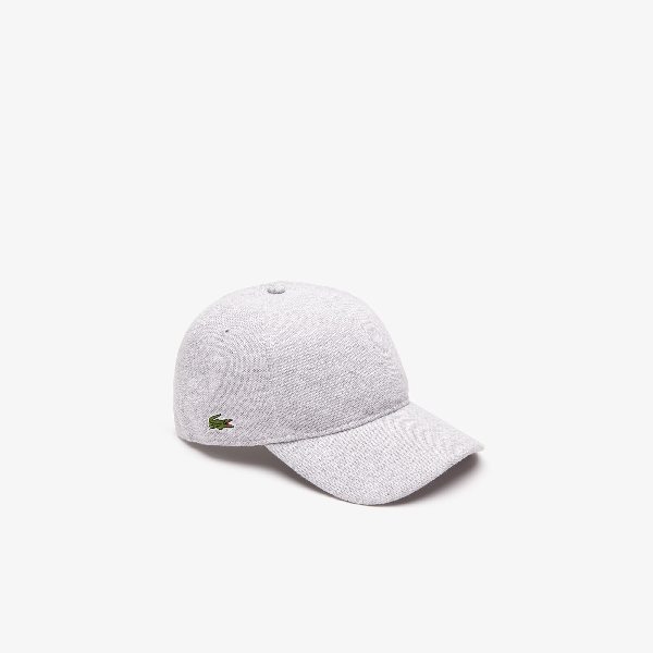 a39238bc1e Men's Cotton Piqué Cap in Grey Chine