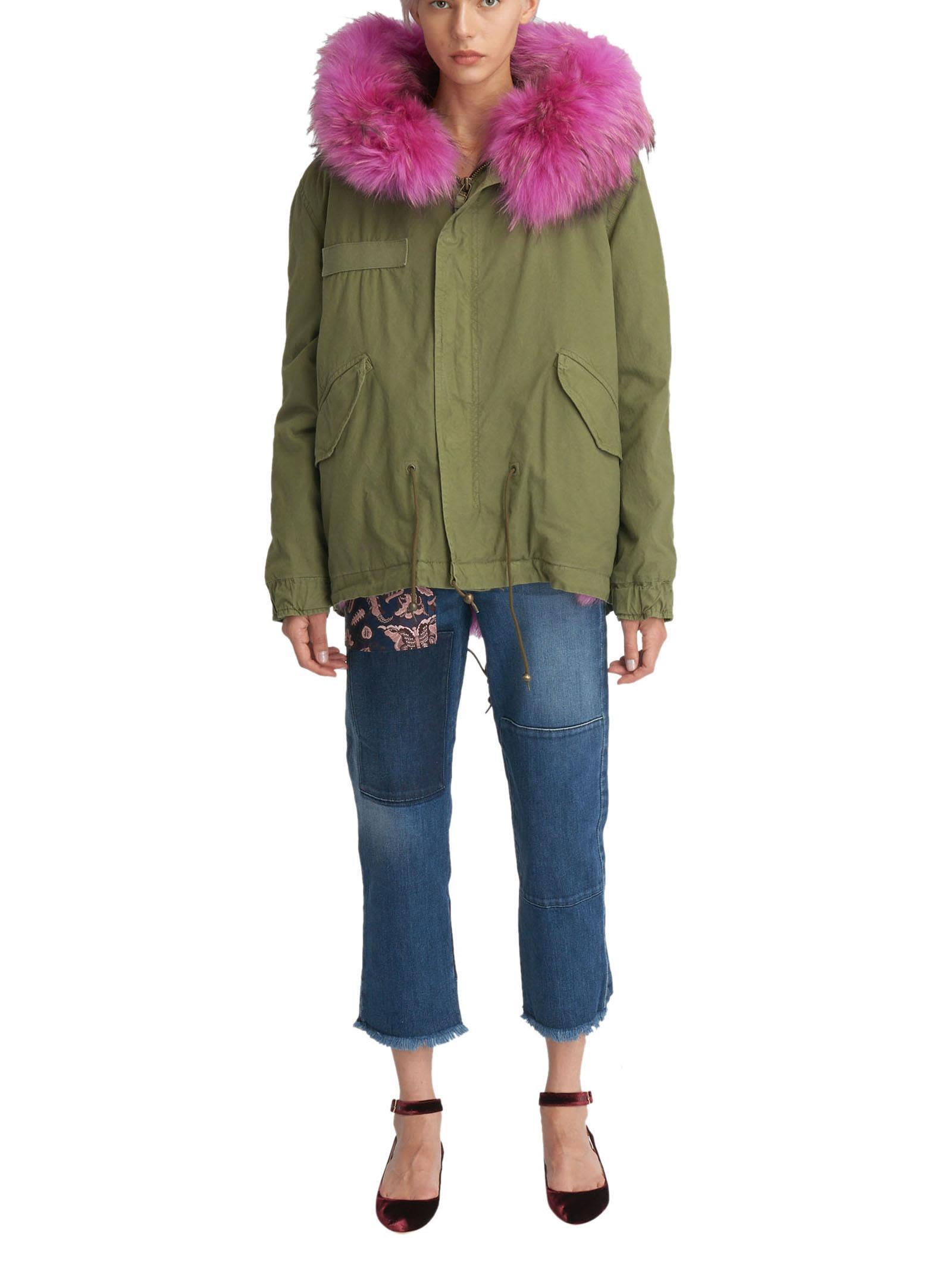 Mr & Mrs Italy Parka  In Green