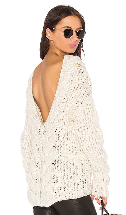 Oneonone Divine Sweater In Cream