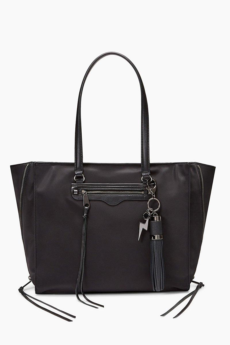 Rebecca Minkoff Always On Side Zip Regan Tote With Charge