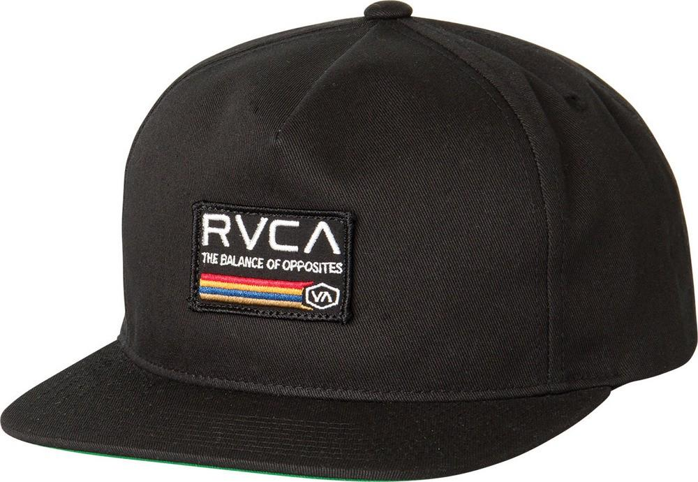 Rvca Mechanics Snapback In Black