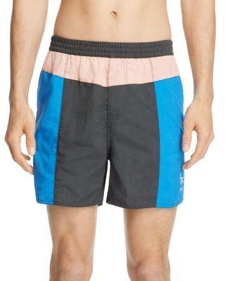 Barney Cools B.quick Color Block Shorts In Black/pink