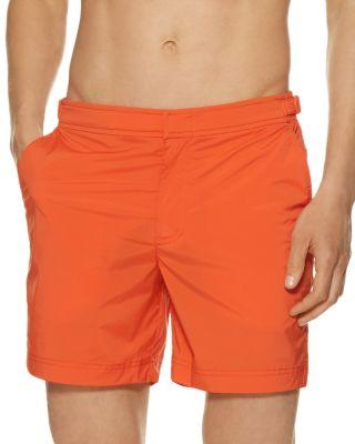 Orlebar Brown Jack Swim Trunks In Hazard Orange