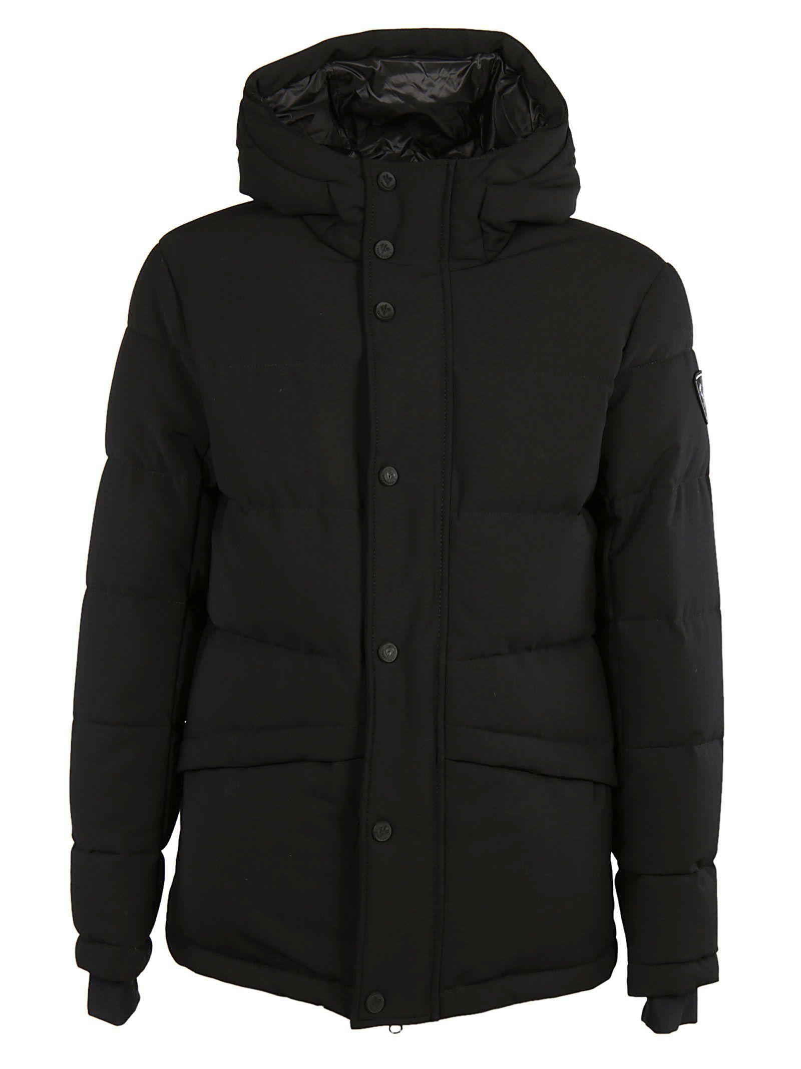 Rossignol Hooded Down Jacket In Black