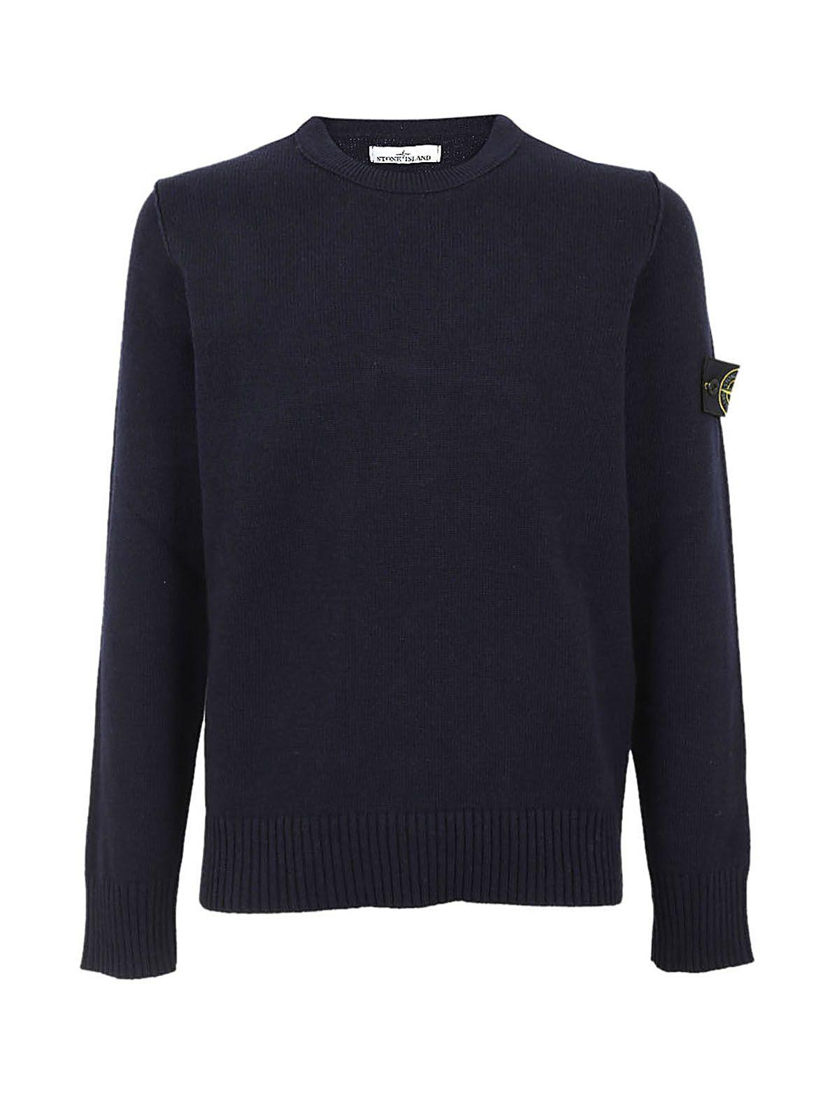 Stone Island Ravarino Sweater In Blue