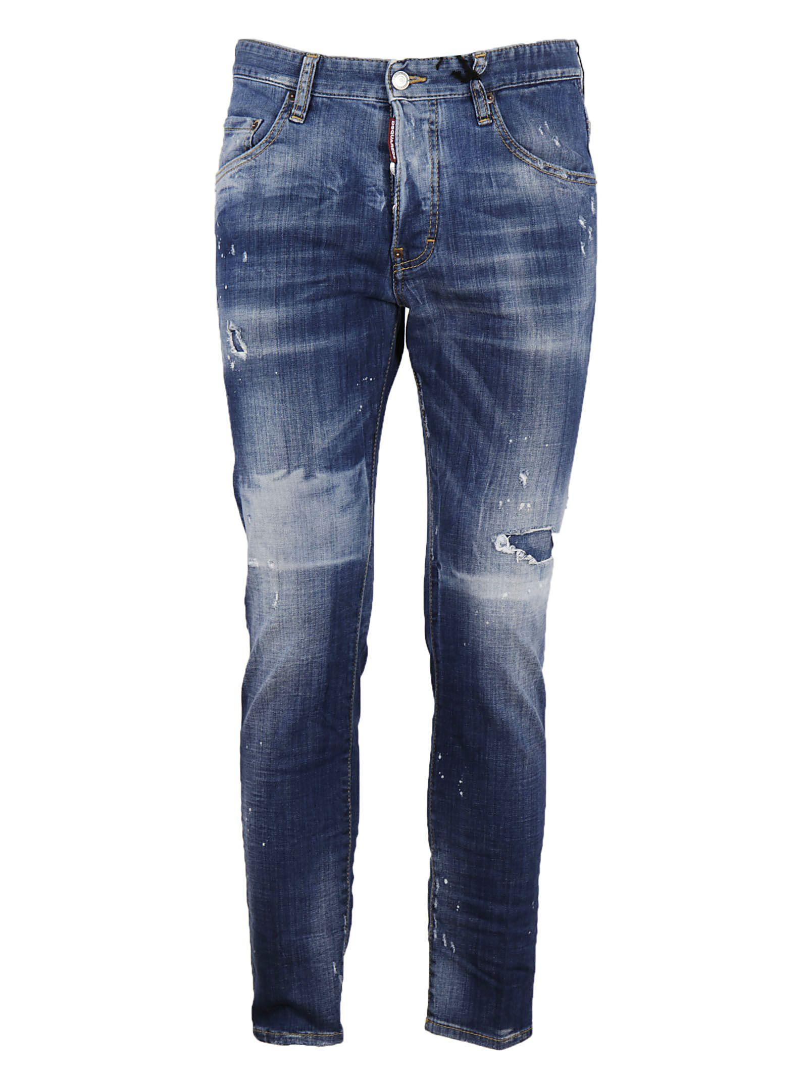 Dsquared2 Skater Canada Jeans In Blue