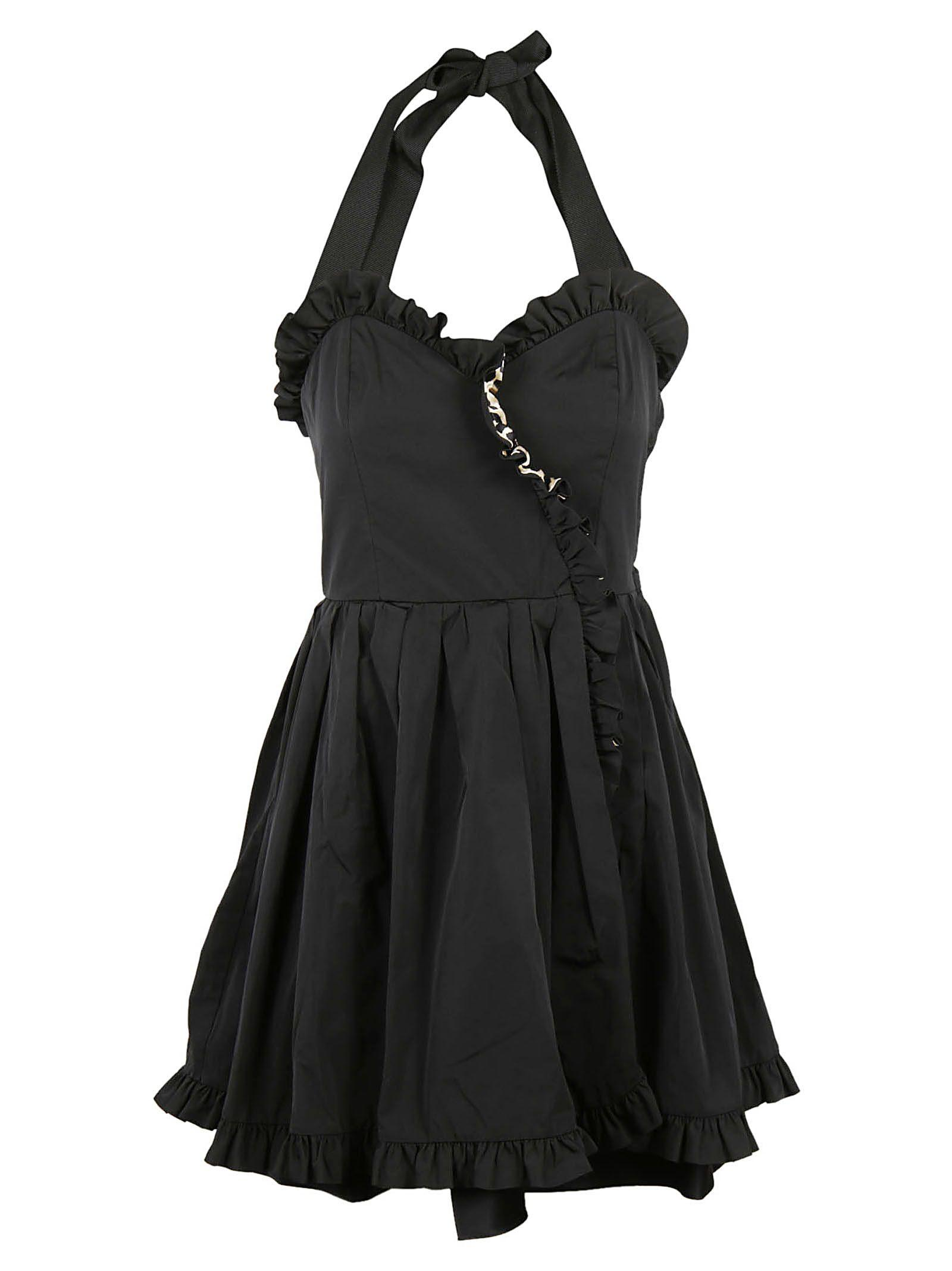 Marc Jacobs Ruffled Dress In Black