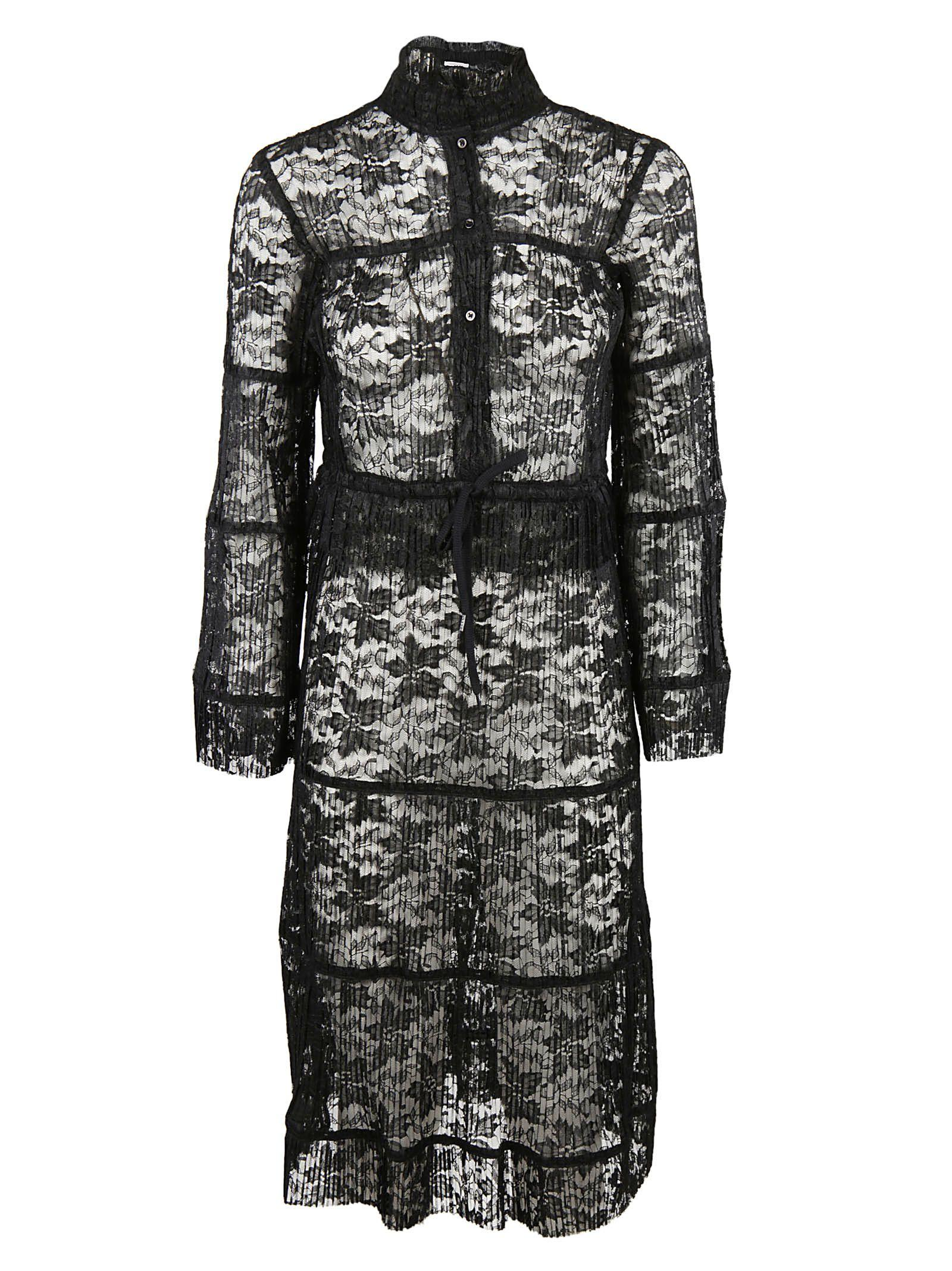 See By ChloÉ See By Chloe Lace Embroidered Dress In Black