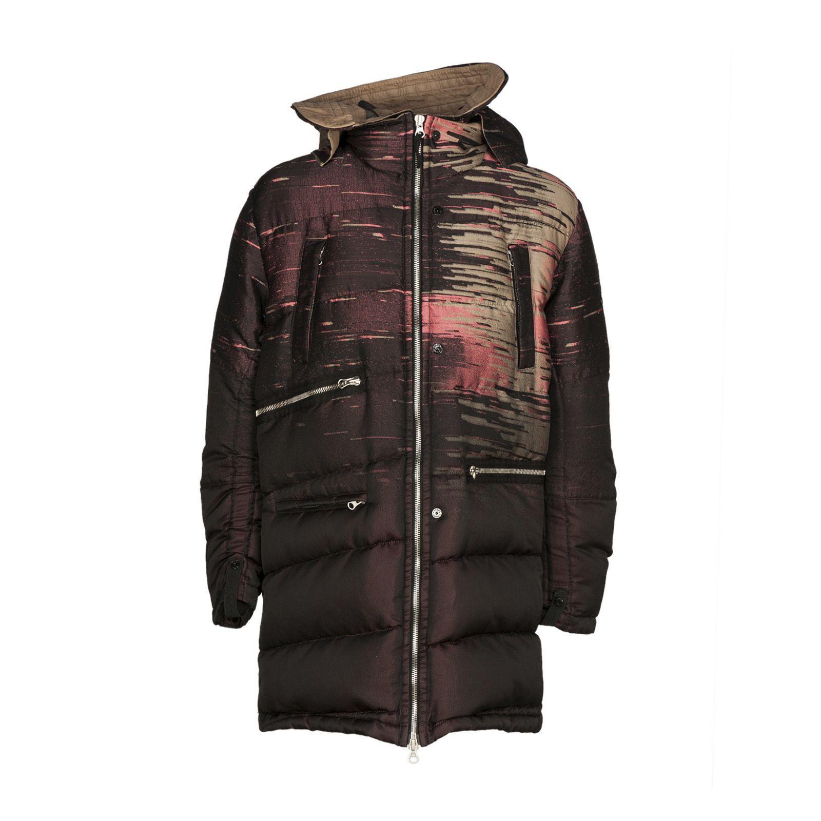 Stone Island Shadow Project Zipped Puffer Jacket In Beige