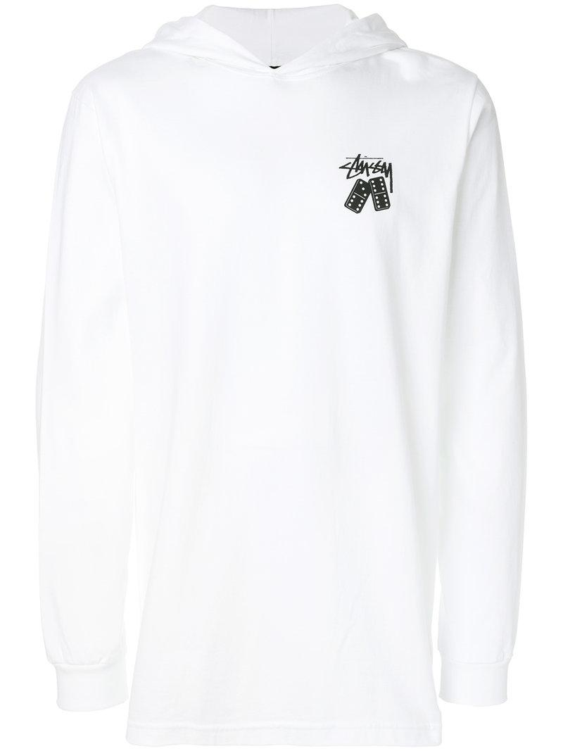 Stussy Domino's Logo Print Sweatshirt
