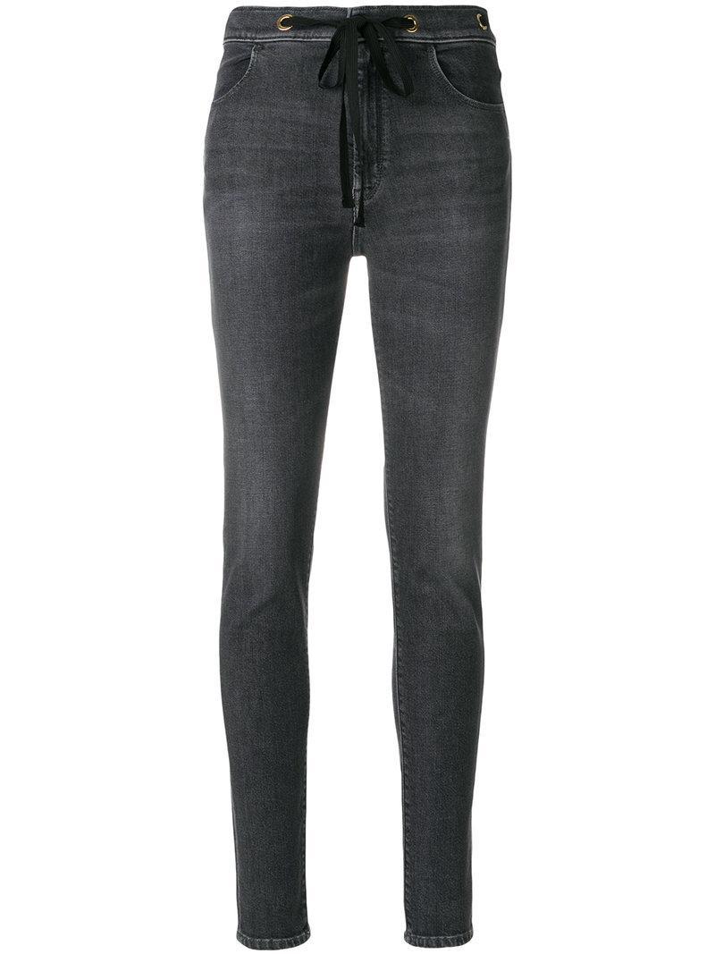 The Seafarer Tie Waist Skinny Jeans