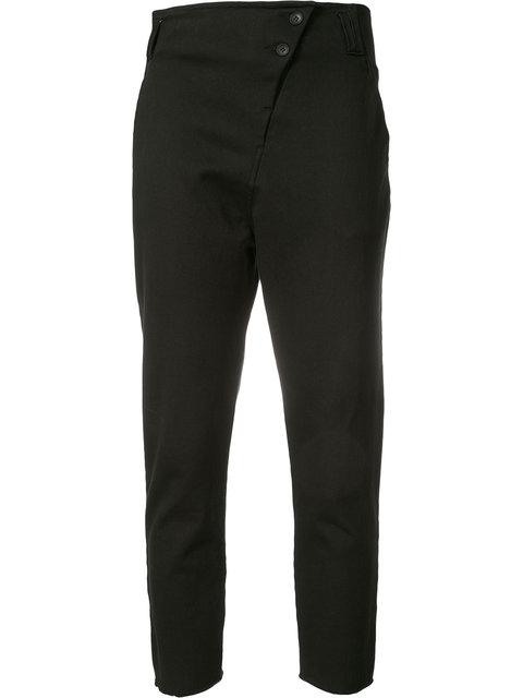 Thom Krom Asymmetric Button Trousers