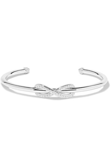 Tiffany & Co Infinity 18-karat White Gold Diamond Cuff