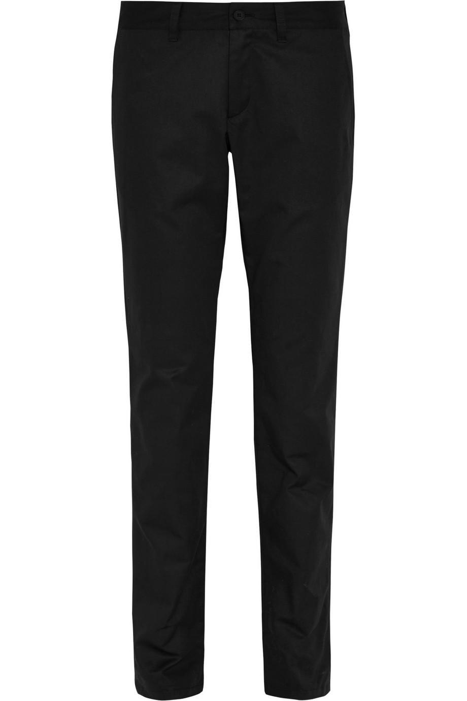 Tomas Maier Cotton-gabardine Tapered Pants