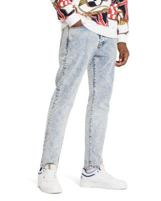 82686ae5 Tommy Hilfiger Tommy Jeans 90's Acid Wash Straight Fit Jeans In Light Blue  In Washed Blue