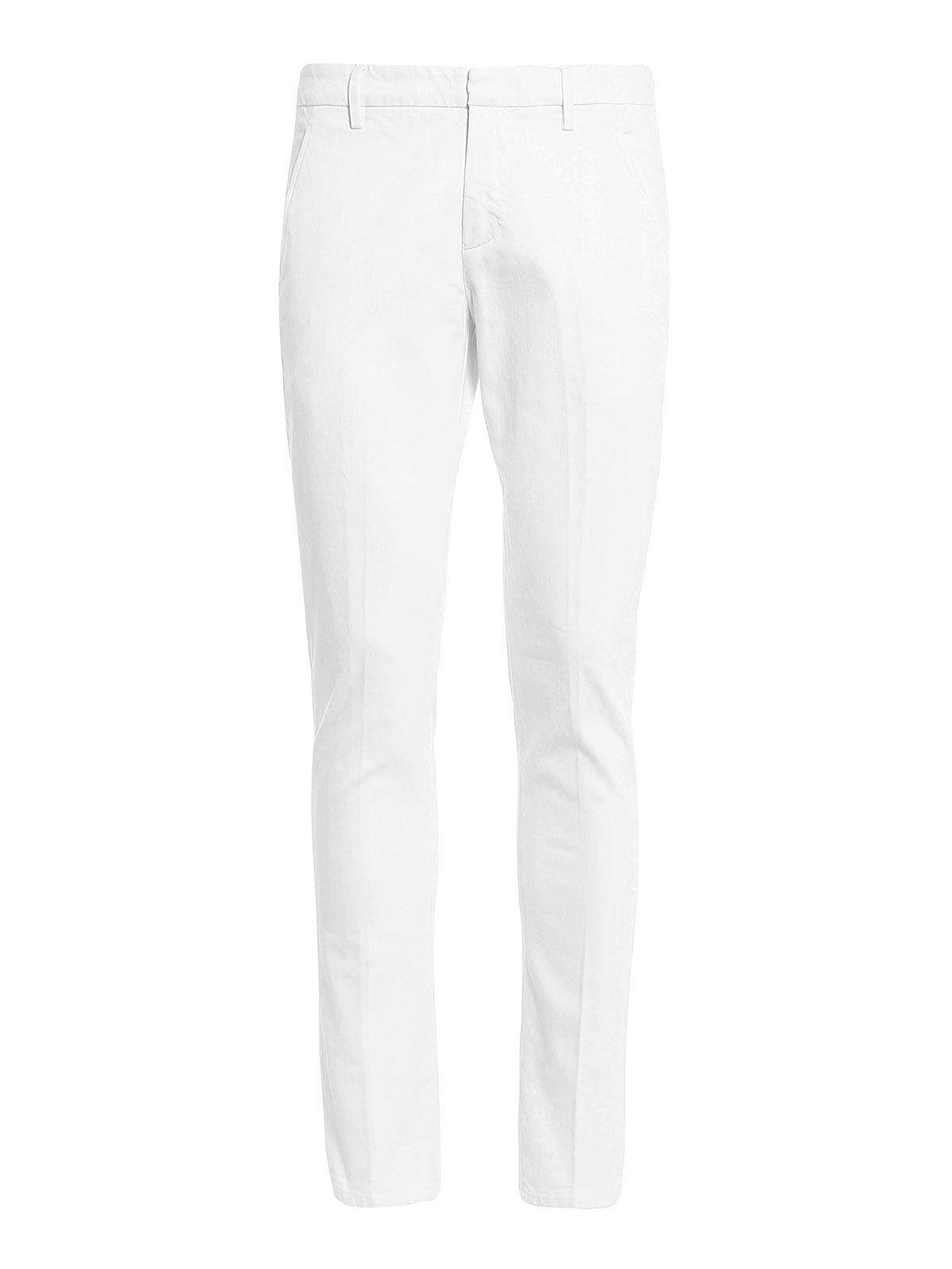 Dondup Gaubert Bull Trousers In White