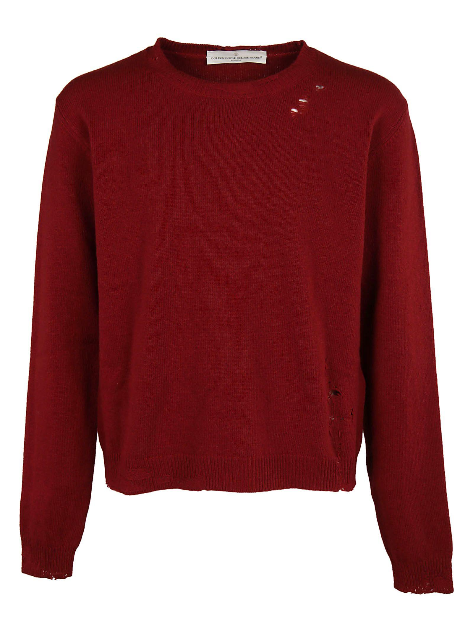 Golden Goose Classic Sweater In Red