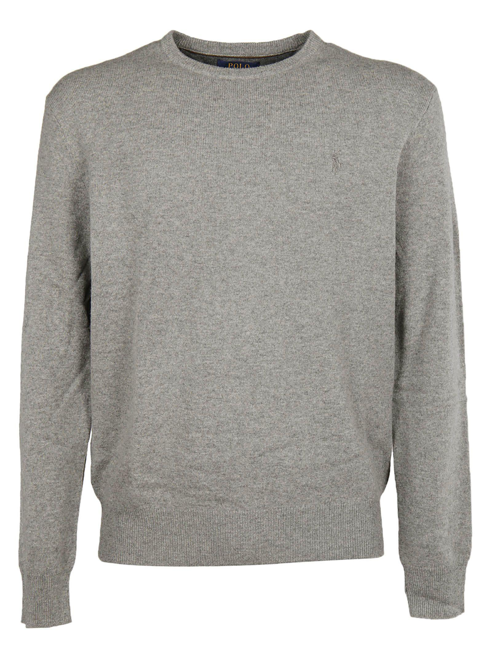 Ralph Lauren Polo  Classic Sweater In Grey