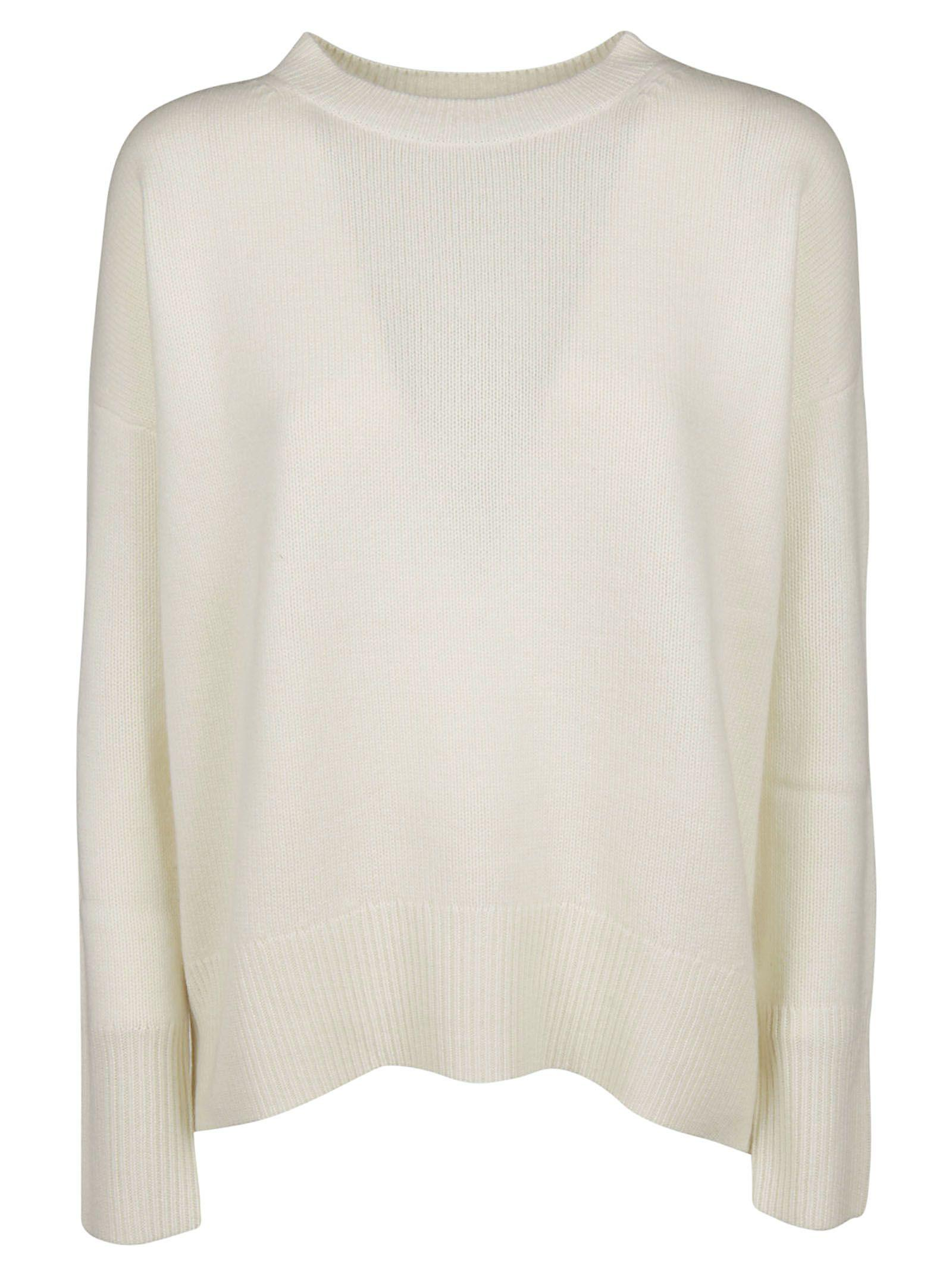 Theory Karenia Sweater In White