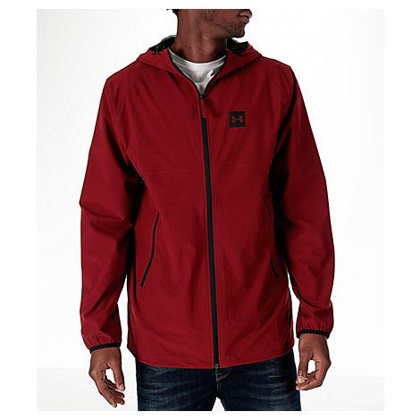 Under Armour Men's Fishtail Wind Jacket, Red