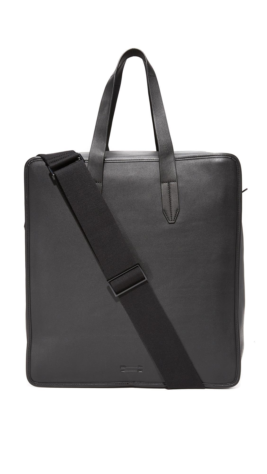 Uri Minkoff Soft Nappa Roxy Carryall Bag In Black