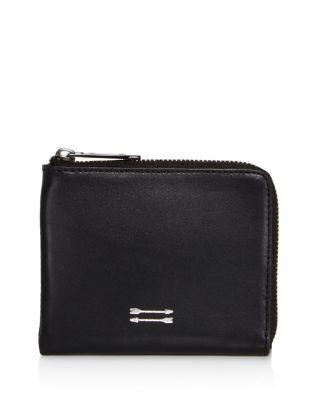 Uri Minkoff Levi Zip Wallet In Black