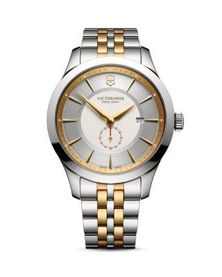 Victorinox Swiss Army Two-tone Alliance Watch, 44mm In Silver/gold