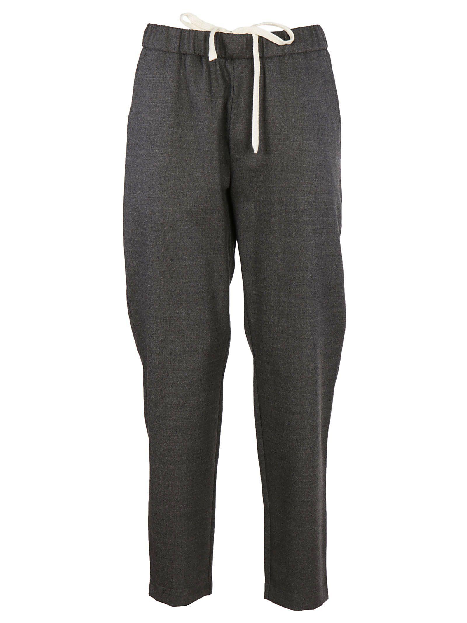 Barena Venezia Classic Cropped Trousers In Grey