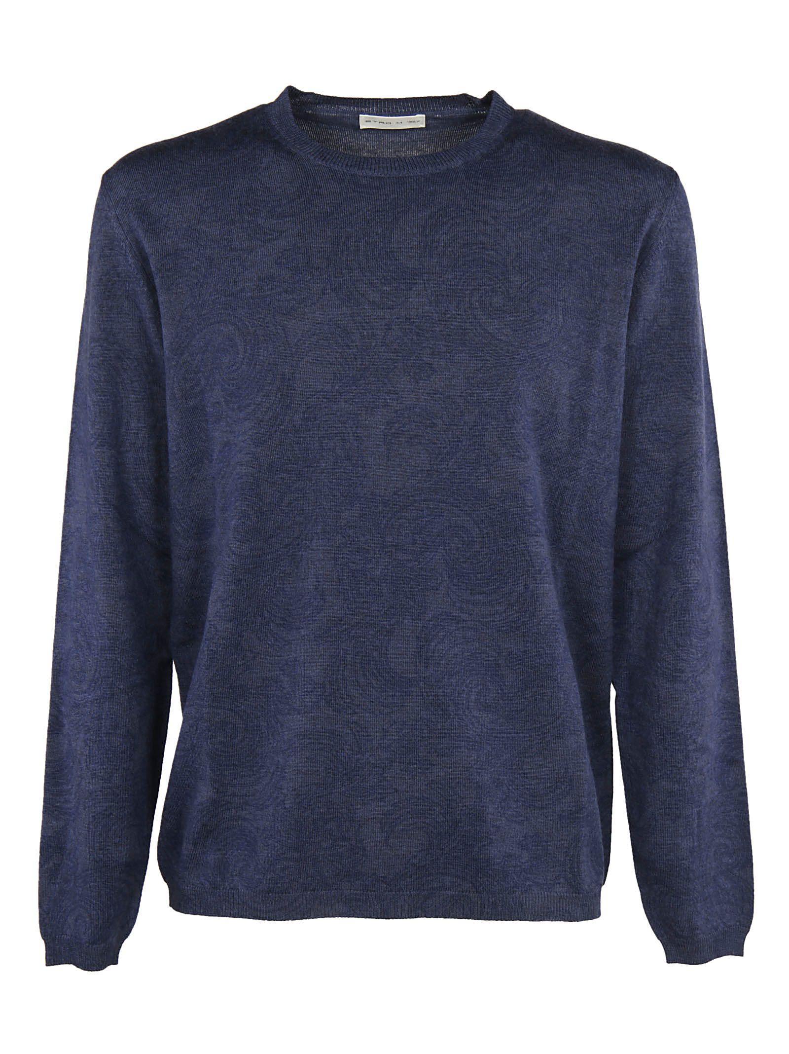 Etro Floral Embroidery Sweatshirt