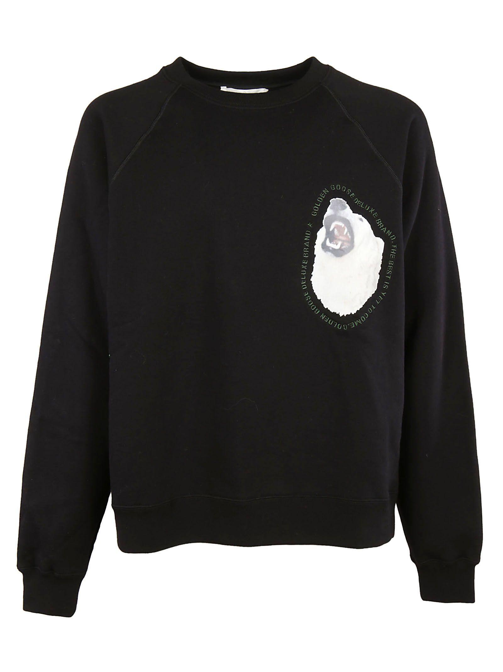 Golden Goose Edward Sweatshirt In Black