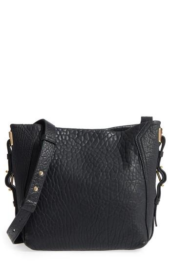 Vince Camuto Fava Leather Bucket Bag - Black
