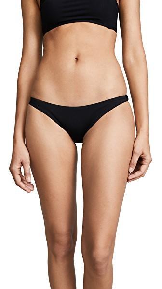 Vitamin A Luciana Bikini Bottoms In Black