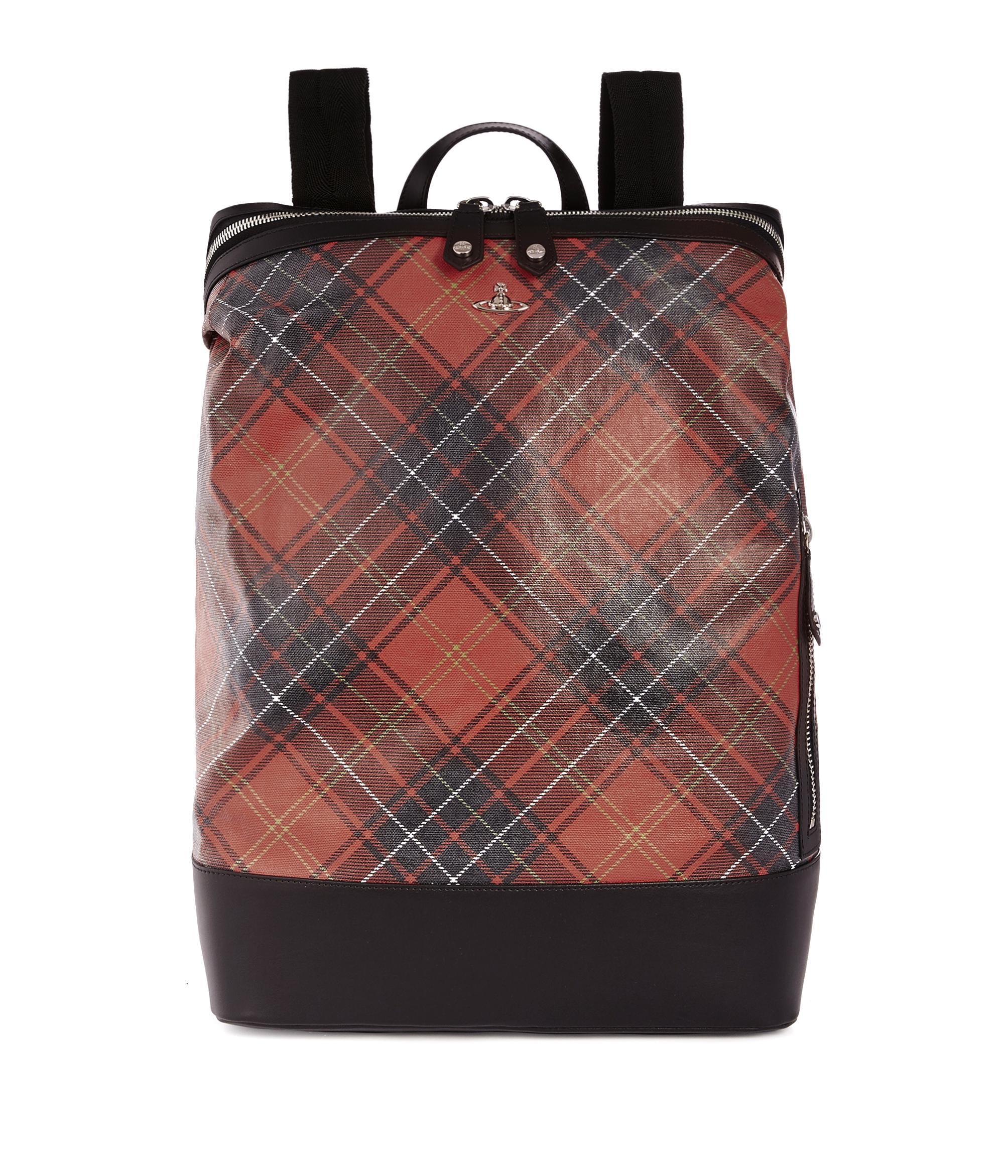 Vivienne Westwood Wimbledon Backpack 131265 Black