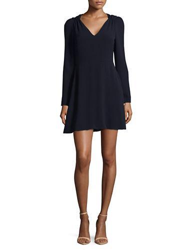 Wayf Raelynn Mini Dress-blue