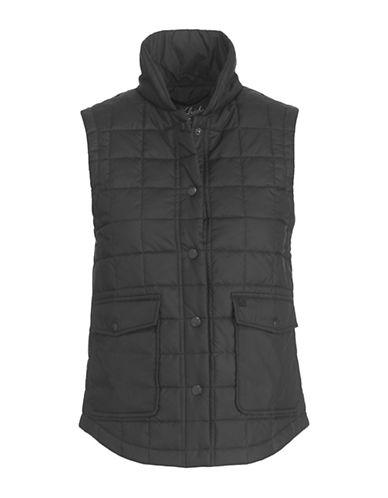 Woolrich Quilted Packable Vest-black