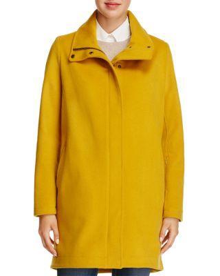 Pendleton Campbell Coat In Golden Rod