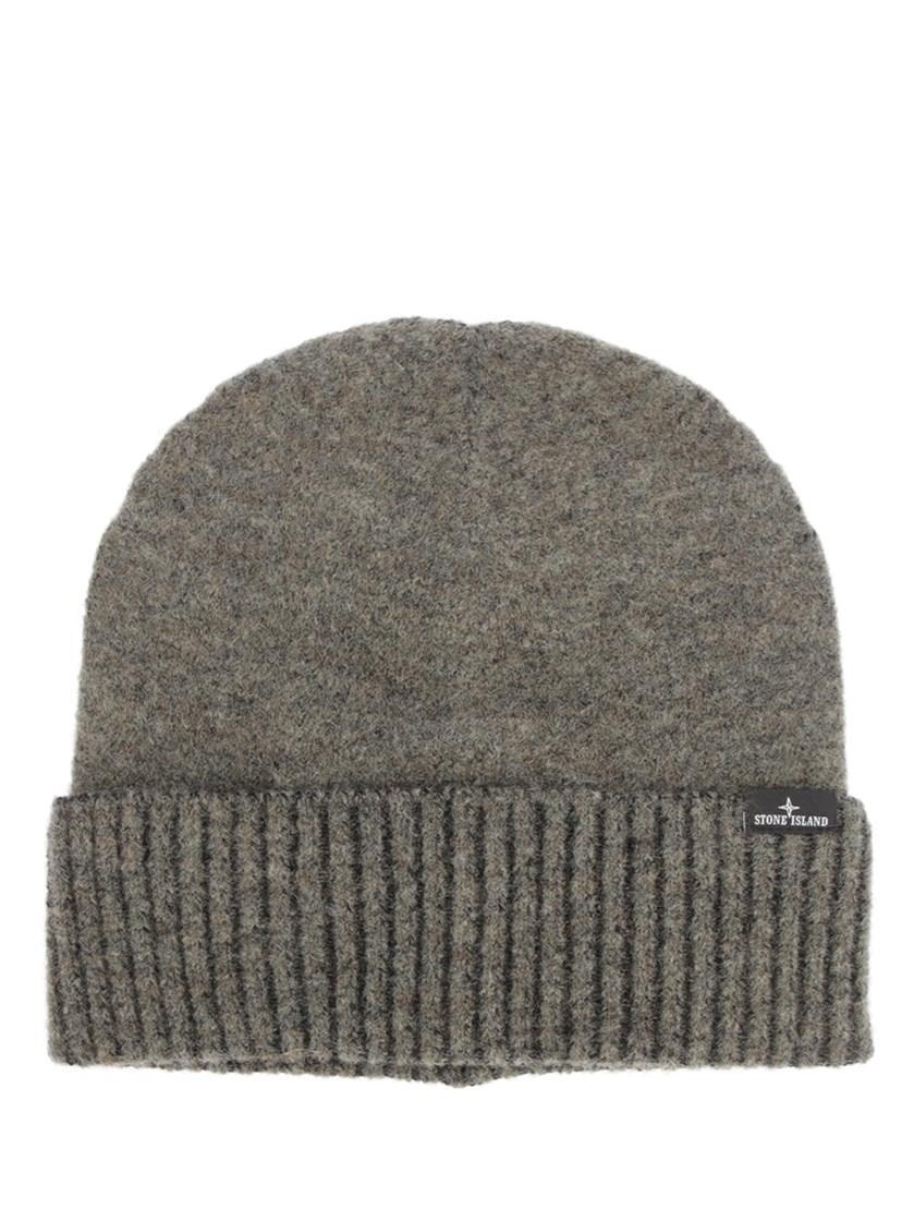 Stone Island Ribbed Beanie Hat
