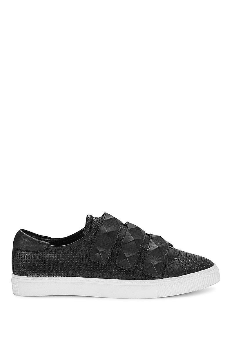Rebecca Minkoff Becky Sneaker In Black