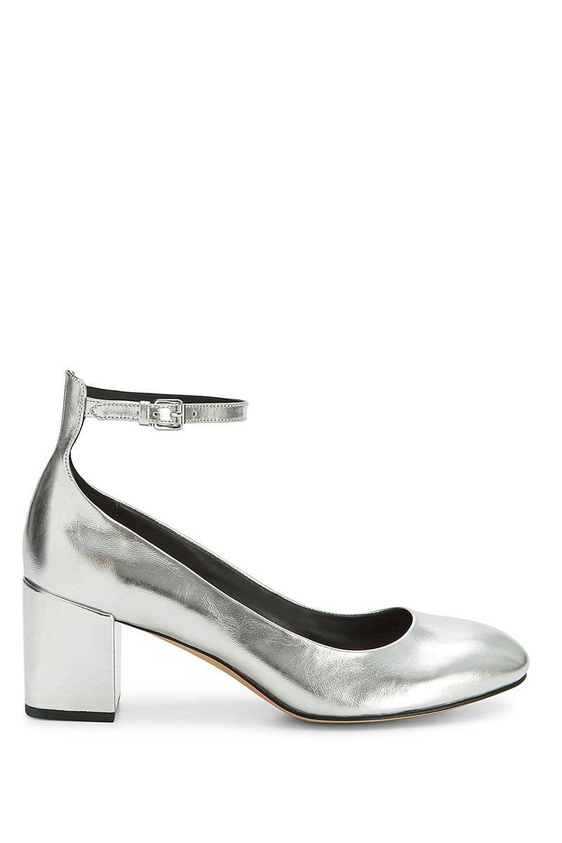 Rebecca Minkoff Bridget Mary Jane In Silver