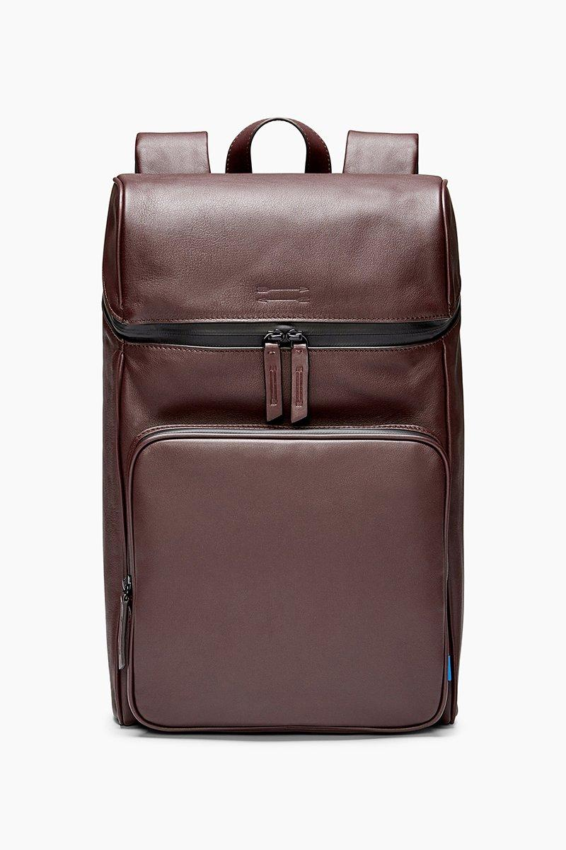 Rebecca Minkoff Stanton Backpack In Aubergine