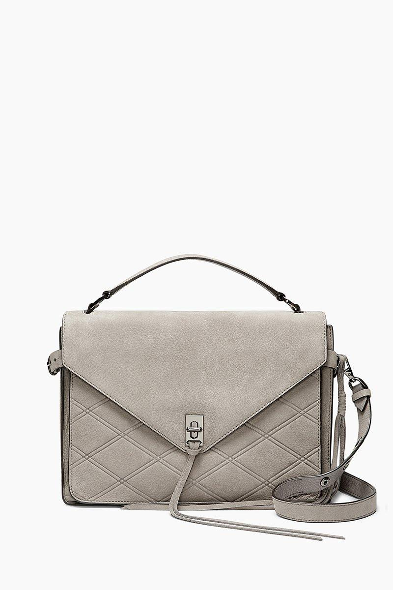Rebecca Minkoff Darren Messenger In Grey