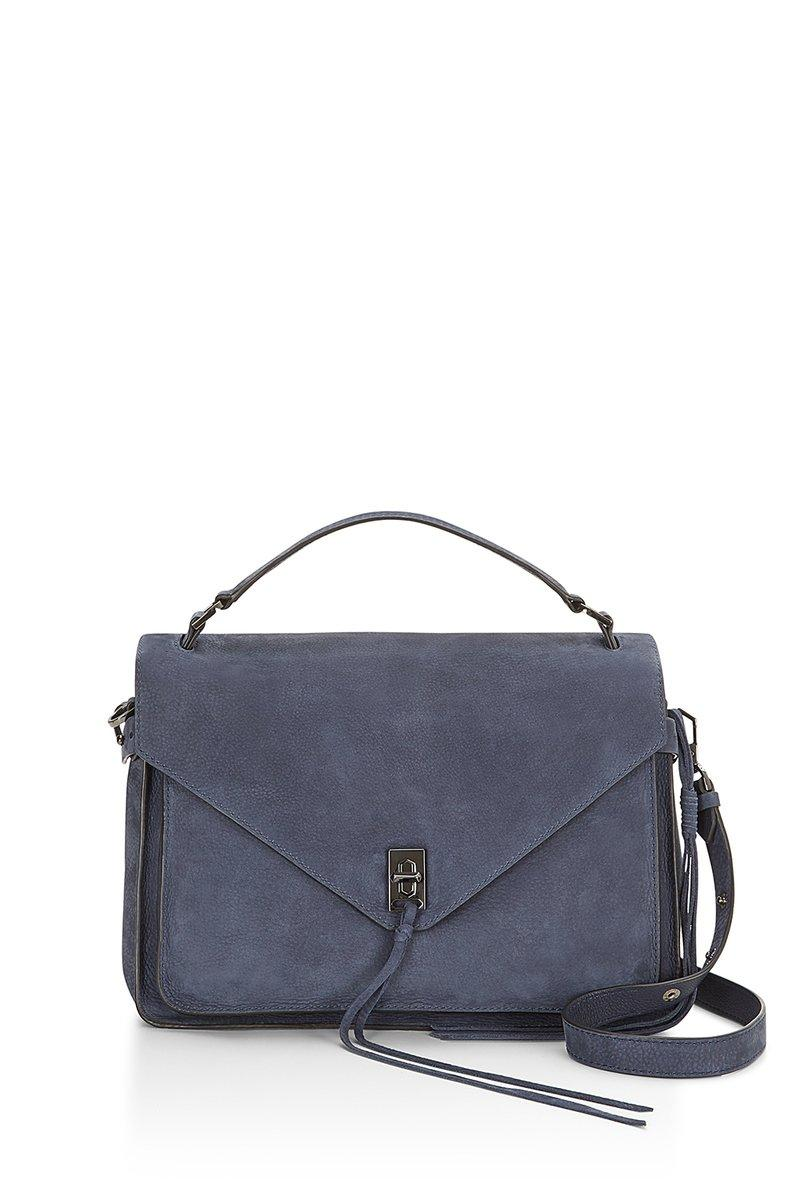 Rebecca Minkoff Moon Blue Darren Messenger Bag |