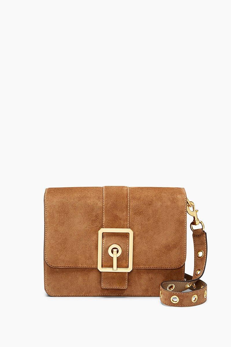 Rebecca Minkoff Hook Up Shoulder Bag In Bark