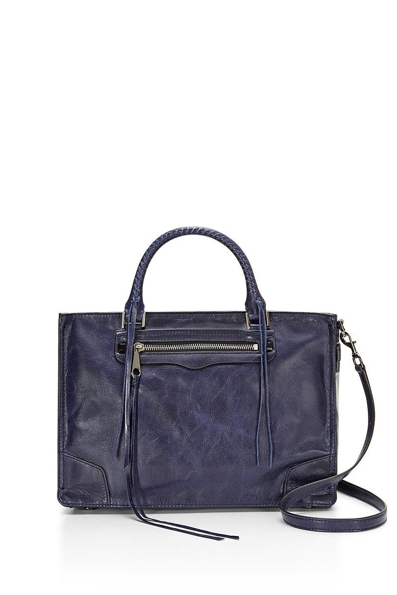 Rebecca Minkoff Regan Satchel Tote In Moon