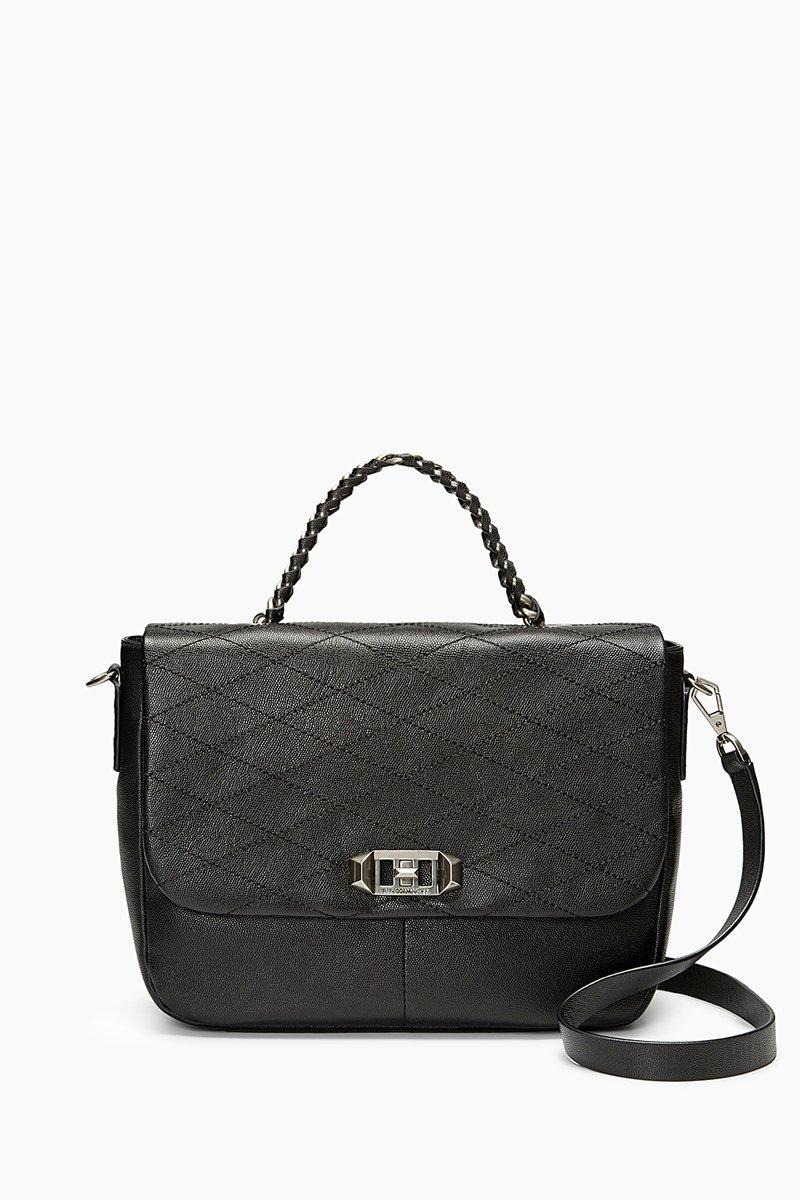 Rebecca Minkoff Je T'aime Medium Messenger In Black
