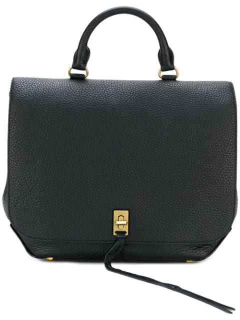 Rebecca Minkoff Darren Convertible Leather Backpack - Black