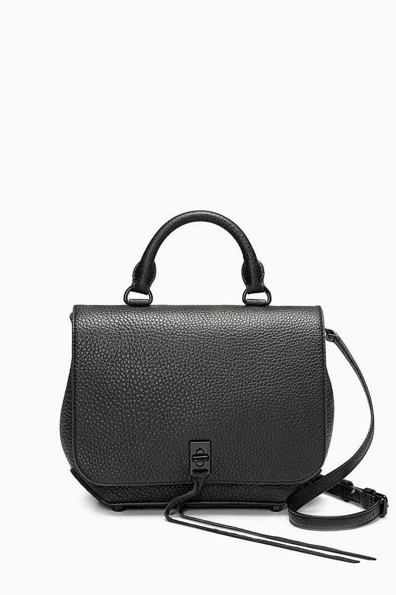 Rebecca Minkoff Black Medium Darren Convertible Backpack |