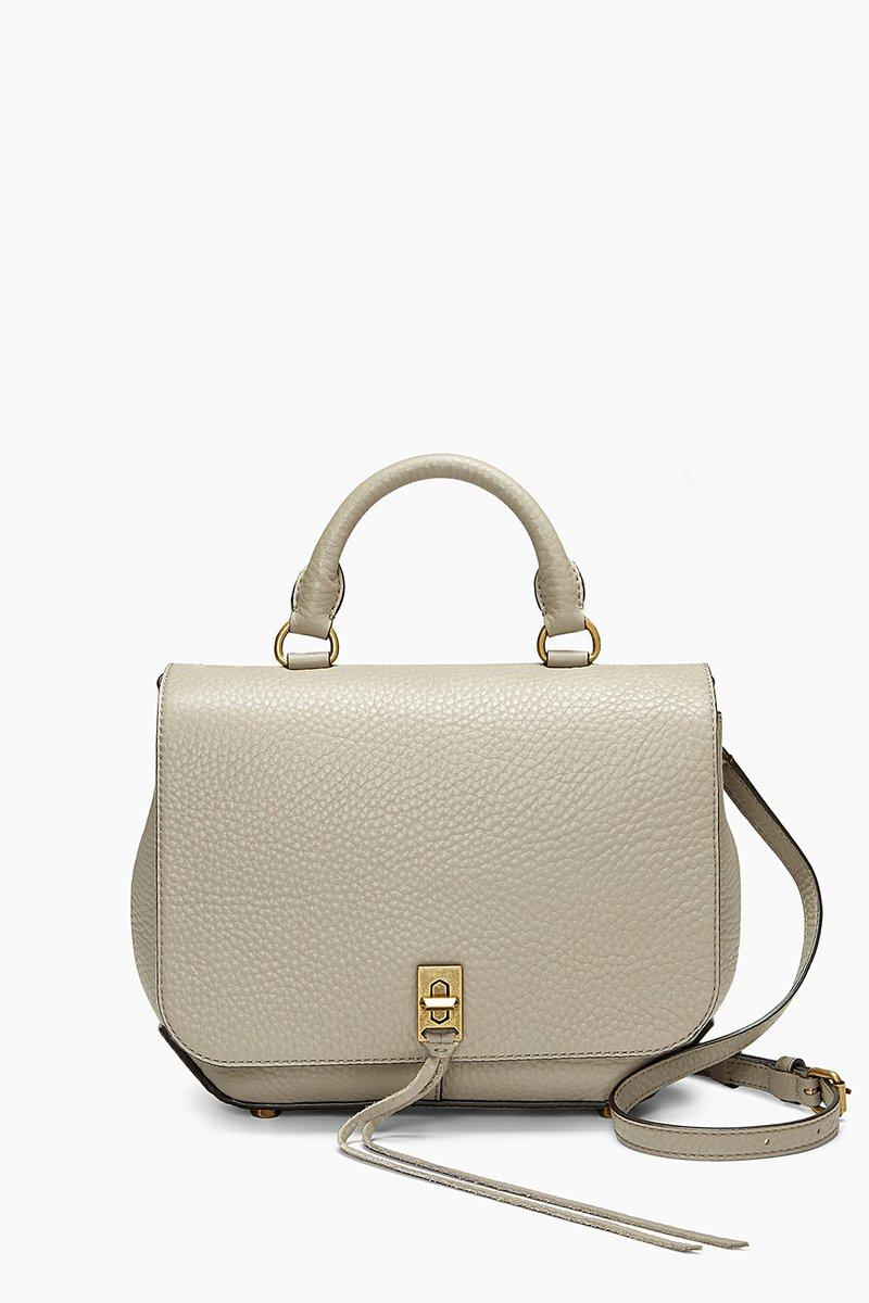 Rebecca Minkoff Medium Darren Convertible Backpack In Taupe